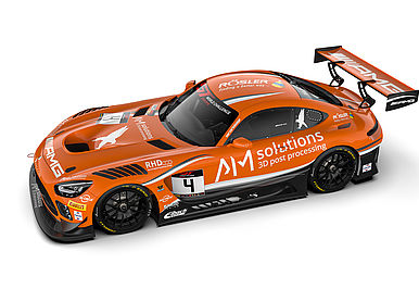 AM Solutions Mercedes AMG GT3 von Black Falcon.